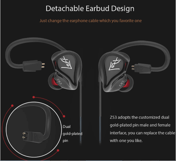 KZ ZS3 review