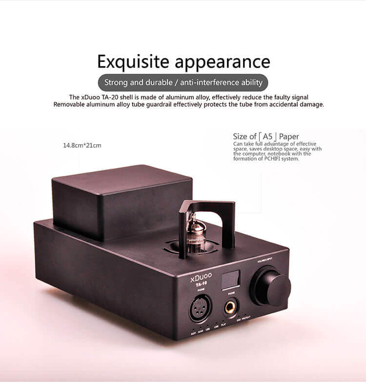 Xduoo TA-10 tube headphone amplifier