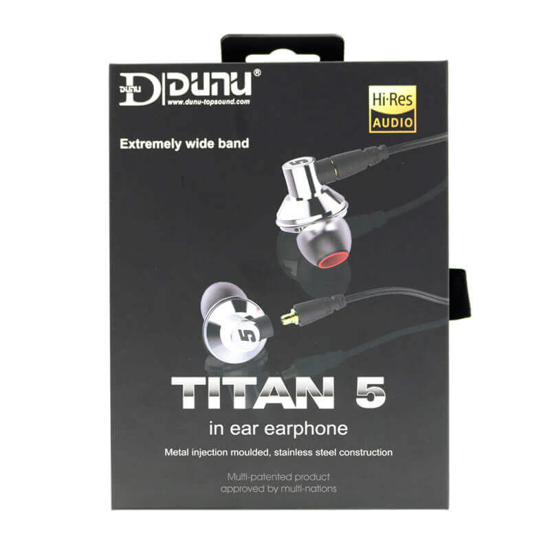 Dunu Titan 5 package