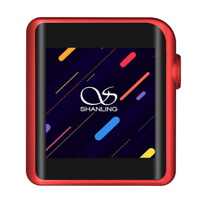 red music player shanling m0